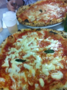 Yes, I have been known to eat two pizzas in one sitting. Fatty.
