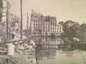 The port of Toulon, heavily damaged by the war.